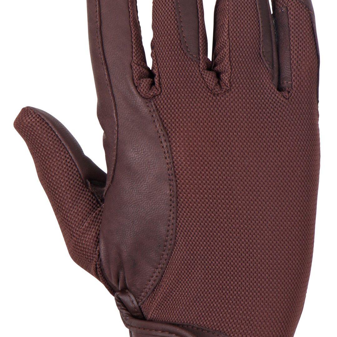 Badminton Glove brown back