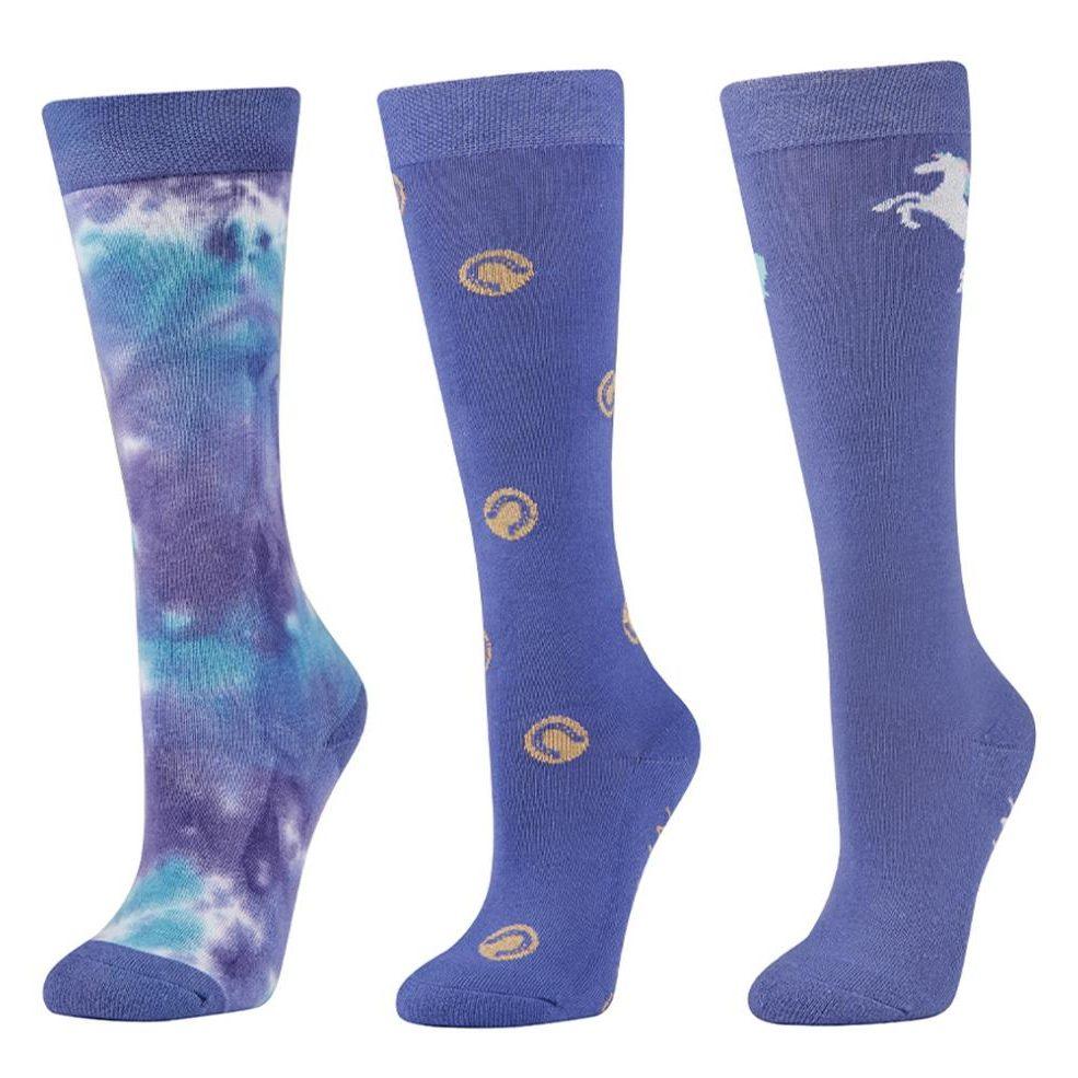 Dublin 3 Pack Kids Socks